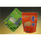 Zipper Stand Up Pouch for Organic Rice