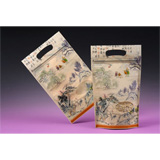 Window Opening and Zipper Stand Up Pouch