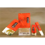 Vacuum Rice Pouch with Side Seam Seal Gusset Bag for Organic Rice